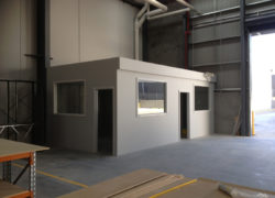 Commercial Warehouse Office Build