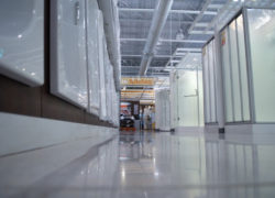 Floor Sealing At Manufacturing Plant
