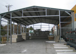 Warehouse Cladding And Roller Door
