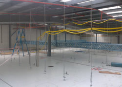 Steel Support For Supply Pipes