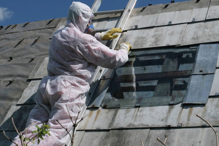 Asbestos Roof Removal And Roof Replacement